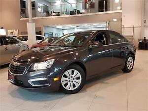 2015 Chevrolet Cruze LT-AUTOMATIC-REAR CAM-ONLY 44KM