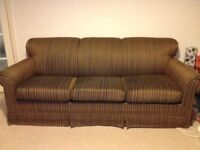 3 SEATER SOFA BED (from America) *immaculate!!!!!
