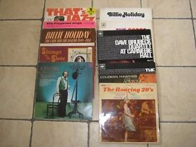 A Selection Of Eleven Jazz And Blues LPs From Times Gone bye. OFFERS WELCOME.