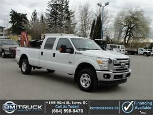 2016 FORD F-350 SUPER DUTY XLT CREWCAB LONG BOX 4X4 1 TON DIESEL