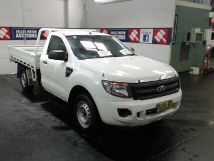 2012 Ford Ranger PX White Tipper 2.2l
