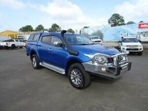 2017 Mitsubishi Triton MQ MY17 GLS Double Cab Impulse Blue 6 Speed Manual Utility Nowra Nowra-Bomaderry Preview