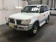 1997 Toyota Landcruiser Prado VZJ95R GXL (4x4) White 4 Speed Automatic 4x4 Wagon Beresfield Newcastle Area Preview