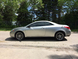 2007 Pontiac G6 Convertible - Price reduced for end of season!!!