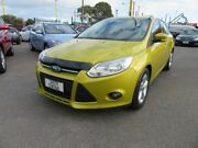 2011 Ford Focus LW Trend Green 6 Speed Sports Automatic Hatchback Morphett Vale Morphett Vale Area Preview