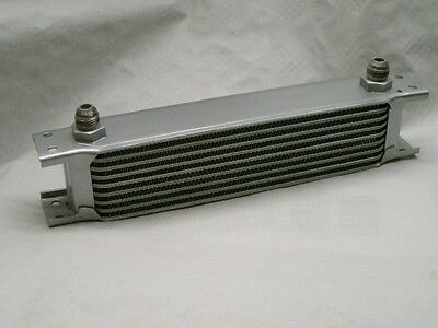 Burstflow Universal Ölkühler 7 Reihen AN10 Öl Kühler passend für Mercedes Fiat