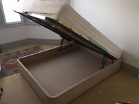 Double Ottoman Bed, 150x190