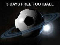 FREE 3 DAYS IPTV FOOTBALL AND MUCH MORE