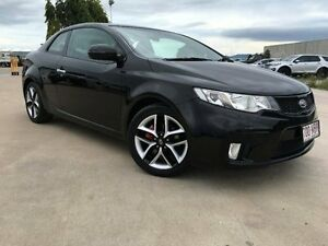 2011 Kia Cerato TD MY11 Koup SI Black 6 Speed Manual Coupe Garbutt Townsville City Preview
