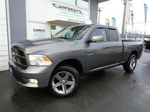 2010 Dodge Ram 1500 Sport 4x4, Quad, Leather, Heated and Cooled