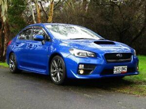 2016 Subaru WRX V1 MY17 Premium Lineartronic AWD Blue 8 Speed Constant Variable Sedan Littlehampton Mount Barker Area Preview