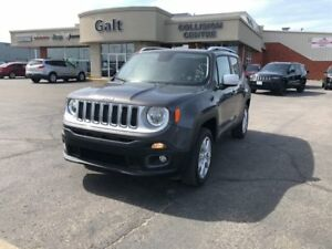 2017 Jeep Renegade LIMITED 4X4 | LEATHER NAV UCONNECT SUNROOF