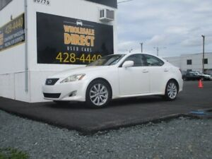 2008 Lexus IS 250 SEDAN 6 SPEED 2.5 L