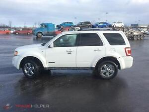 ford escape 2008 limited 4x4 $3850. carte credit accepter