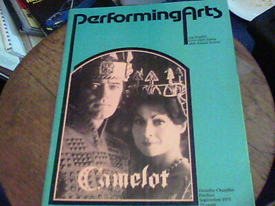performing arts Camelot Sept 1975 Los Angeles Civic Light Opera 38th Season bf7