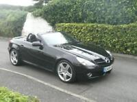 MERCEDES SLK280 3.0 7G-Tronic 2009(59) AUTO IMMACULATE THROUGHOUT F/S/H SAT NAV