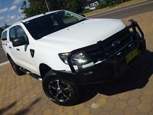 2013 Ford Ranger PX XL 2.2 (4x4) White 6 Speed Automatic Crewcab Greenway Tuggeranong Preview