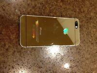 Custom NEW Metallic Gold iPhone 5S with Box