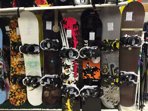 New snowboard & bindings from 138 to 160 cm $149.99 - $219.99