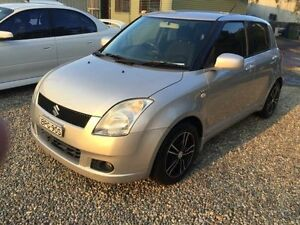 2005 Suzuki Swift EZ Silver 5 Speed Manual Hatchback Jewells Lake Macquarie Area Preview