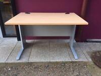 Beech 1200 straight office desk