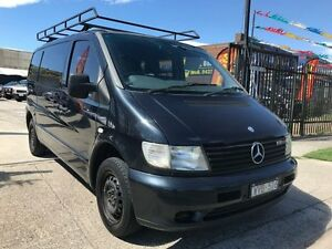 2003 Mercedes-Benz Vito Series 1 108 cdi Black 5 Speed Manual Van Williamstown North Hobsons Bay Area Preview