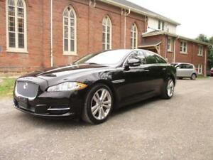 2011 JAGUAR XJ-L - PORTFOLIO PKG - BLACK ON BLACK $24499