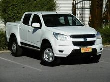 2013 Holden Colorado RG MY14 LX Crew Cab White 6 Speed Sports Automatic Utility Melrose Park Mitcham Area Preview