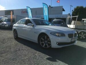 2012 BMW 520i F10 MY12 White 8 Speed Automatic Sedan Currumbin Waters Gold Coast South Preview