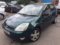 2002 Ford Fiesta, starts and drives well, MOT until 31st July, just had new alternator fitted, car l