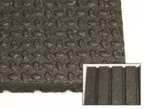 NEW! High Quality 4 x 6 x 3/4 Rubber Mats for Weight Rooms and CrossFit Gyms