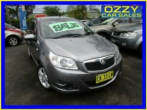 2010 Holden Barina TK MY10 Grey 5 Speed Manual Hatchback Minto Campbelltown Area Preview