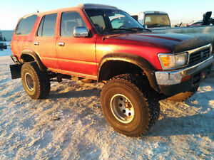 1992 Toyota 4Runner Lifted 4x4 SUV, Crossover