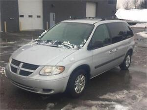 2006 DODGE CARAVAN WITH ONLY 156,000 KILOMETRES!!!!