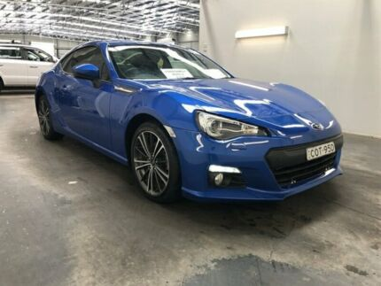 2013 Subaru BRZ MY13 Blue 6 Speed Manual Coupe Beresfield Newcastle Area Preview