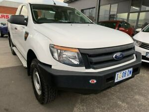 2014 Ford Ranger PX XL Super Cab White 6 Speed Manual Utility North Hobart Hobart City Preview