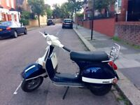 VESPA PX 125 TO SELL - REALLY GOOD CONDITION - DISK BREAKS - MOT - YEAR 2012