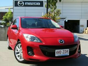 2011 Mazda 3 BL10L2 SP25 Activematic Red 5 Speed Sports Automatic Sedan Maroochydore Maroochydore Area Preview