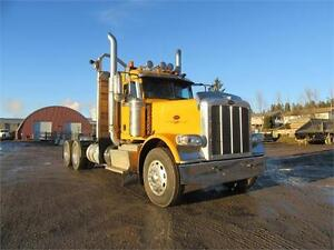 James Western Star - 2014 Yellow Peterbilt