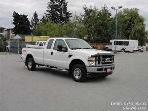 2009 FORD F-250 SUPER DUTY XLT EXTENDED CAB LONG BOX 4X4
