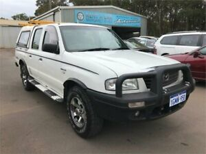 2004 Mazda B2500 Bravo DX (4x4) White 5 Speed Manual Dual Cab Pick-up Margaret River Margaret River Area Preview