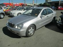 2000 Mercedes-Benz C180 W203 Classic Silver 5 Speed Auto Tipshift Sedan Coopers Plains Brisbane South West Preview
