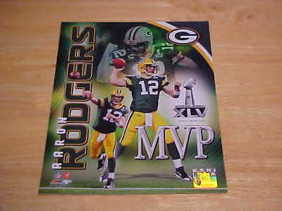 Aaron Rodgers Super Bowl Xlv Mvp Licensed 8X10 Photo Free Shipping 3 More