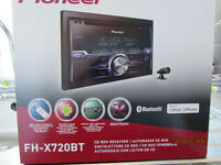 Pioneer FH-X720 BT Double Din receiver