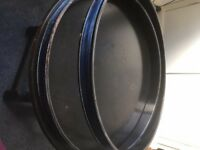 Vintage 60's sonor bass drum 20'' hoops for restoration project