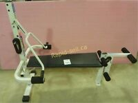 York Powerflex 330 multigym with step attachment, as new condition. Selling due to health issue