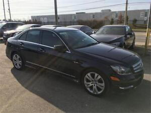 2013 MERCEDES BENZ C300 4MATIC LEATHER SUNROOF
