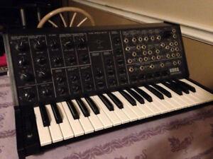 Original vintage Korg MS20 Synthesizer