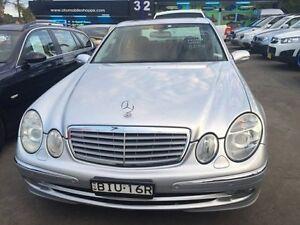 2005 Mercedes-Benz E280 CDI W211 Elegance Sedan 4dr Spts Auto 7sp 3.0DT Silver Sports Automatic Croydon Burwood Area Preview