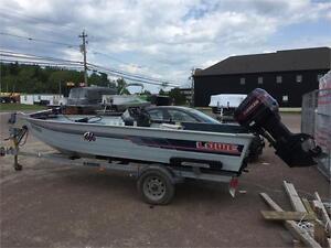 Lowe 16ft w/ 90HP Outboard